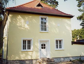 Fassade einfamilienhaus  Malereibetrieb Möhr GmbH in Berlin: Referenzen - Fassadensanierung ...